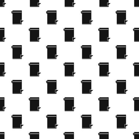 tilting: Trash bin with tilting lid pattern. Simple illustration of trash bin with tilting lid vector pattern for web Illustration