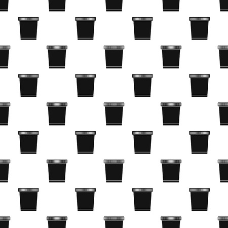 can pattern: Garbage can pattern. Simple illustration of garbage can vector pattern for web Illustration