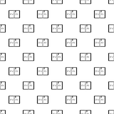 braille: Braille pattern. Simple illustration of braille vector pattern for web Vectores