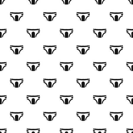 incontinence: Adult diapers pattern. Simple illustration of adult diapers vector pattern for web