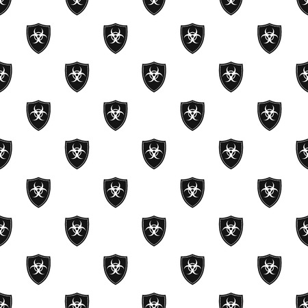 radioactive sign: Radioactive sign pattern. Simple illustration of radioactive sign vector pattern for web