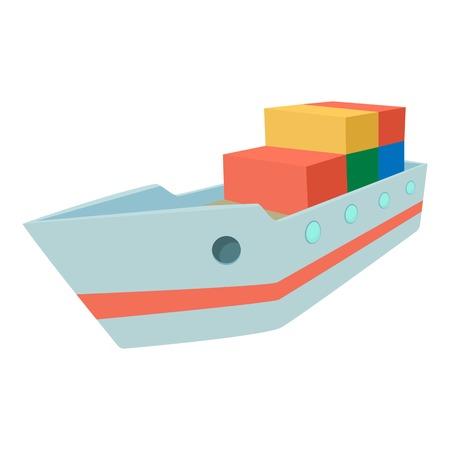 illuminator: Ship icon. Cartoon illustration of ship vector icon for web