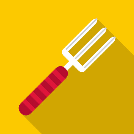 Gardening tool icon. Flat illustration of gardening tool vector icon for web