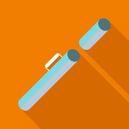 Tube icon. Flat illustration of tube vector icon for web Illustration