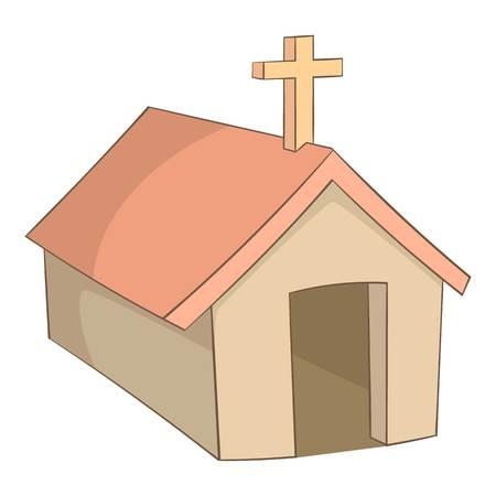 L'église dans le village des Indiens, icône Argentine