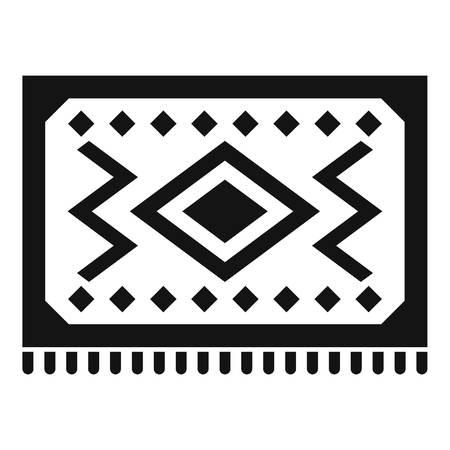 simple: Turkish carpet icon, simple style