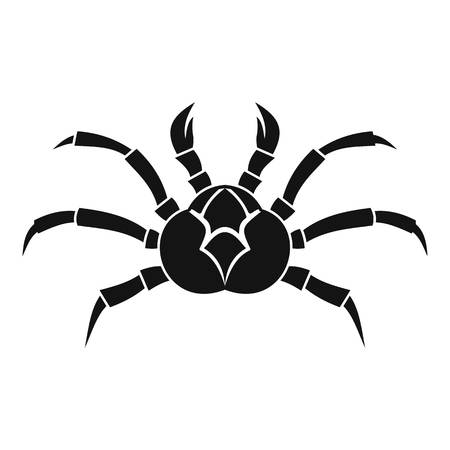 crab legs: Crab icon, simple style