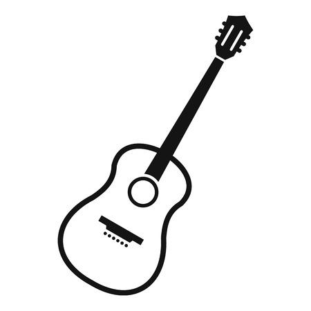 artisanry: Charango icon, simple style Illustration