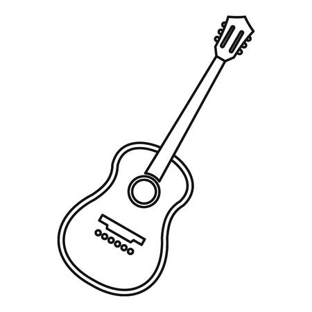 Charango stringed acoustic instrument icon