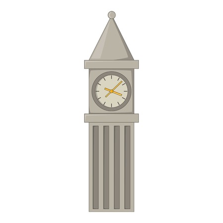 houses of parliament   london: Big Ben in London icon. Cartoon illustration of Big Ben in London vector icon for web design