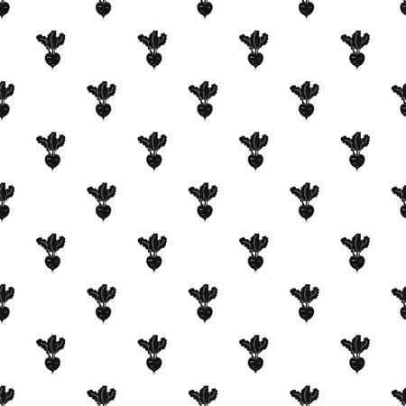 turnip: Turnip pattern. Simple illustration of turnip vector pattern for web