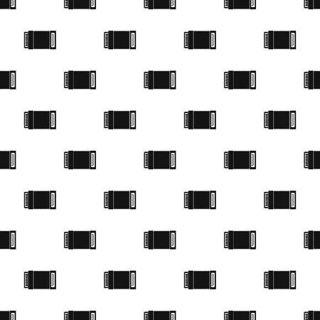 concertina: Accordion pattern, simple style Illustration