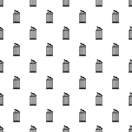 expel: Summary in trash pattern, simple style Illustration
