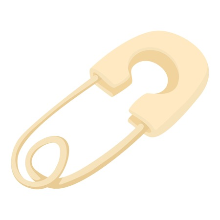 clothes pin: Clothes pin icon. Cartoon illustration of clothes pin vector icon for web Illustration