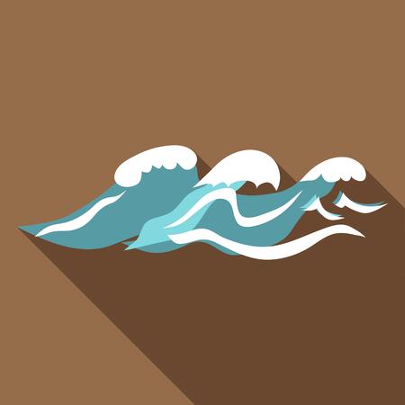 seaway: Seaway icon. Flat illustration of seaway vector icon for web