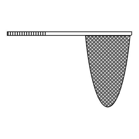fishingnet: Fishing net icon. Outline illustration of fishing net vector icon for web