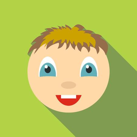 Joy icon. Flat illustration of joy vector icon for web