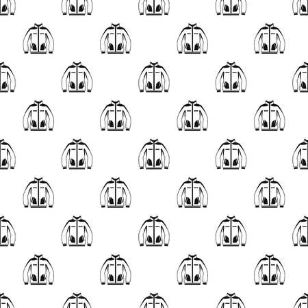sudadera: patrón de la camiseta, estilo sencillo Vectores