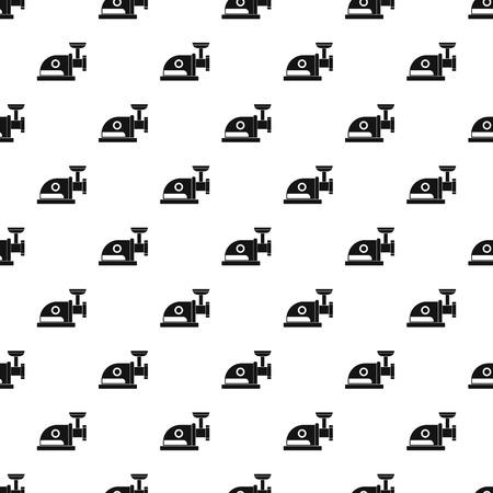 meat grinder: Electric meat grinder pattern, simple style Illustration