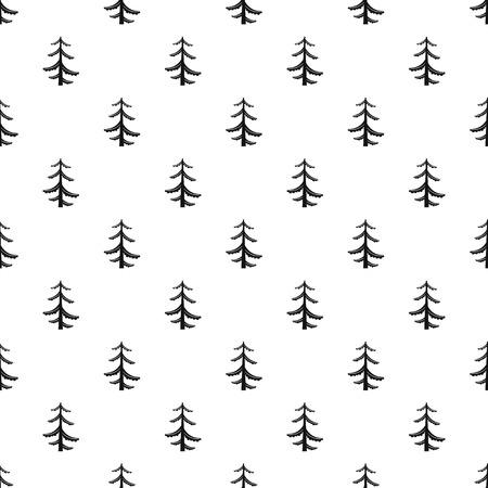 logger: Pine tree pattern, simple style