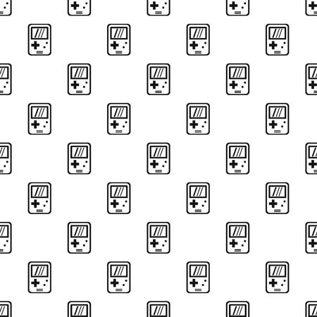 device: Tetris device pattern, simple style