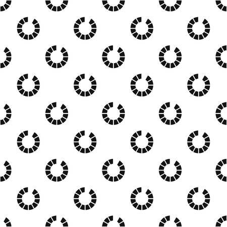 preloader: Preloader progress pattern, simple style Illustration