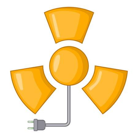 irradiation: Radiation icon. Cartoon illustration of radiation vector icon for web