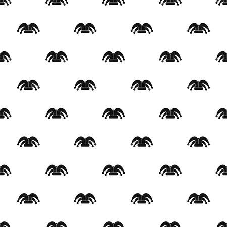 Jester hat pattern, simple style Illustration
