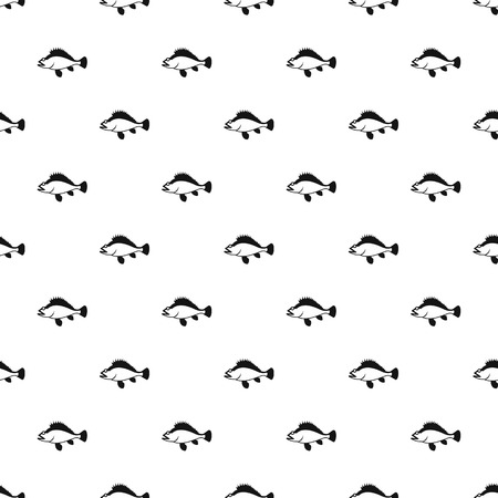 ruff: Ruff fish pattern, simple style Illustration