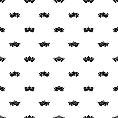 Hop cone pattern, simple style