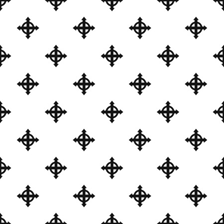expand: Expand arrows pattern, simple style Illustration