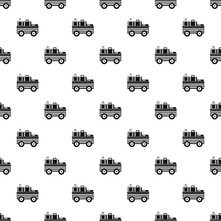 loader: Airport freight loader pattern, simple style