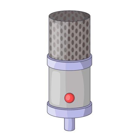 entertaining presentation: Studio microphone icon. Cartoon illustration of studio microphone vector icon for web design