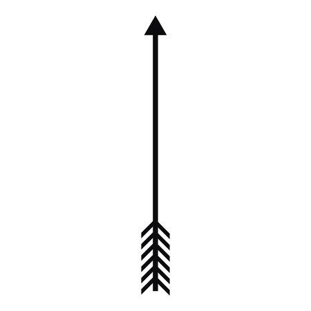 american history: Arrow icon, simple style