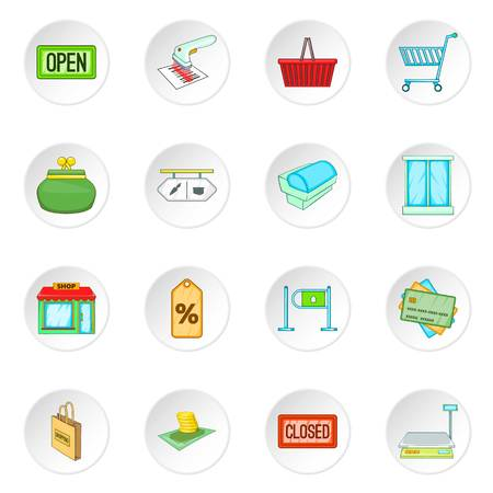 retail: Retail icons set Illustration