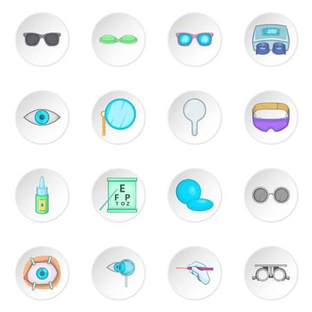 ophthalmologist: Ophthalmologist icons set