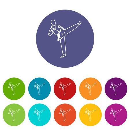wushu: Wushu master set icons
