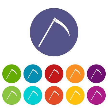 guadaña: establecer iconos guadaña