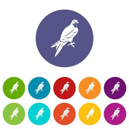 Falcon set icons
