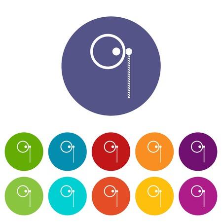 monocle: Monocle set icons