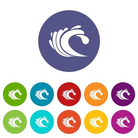 Wave set icons