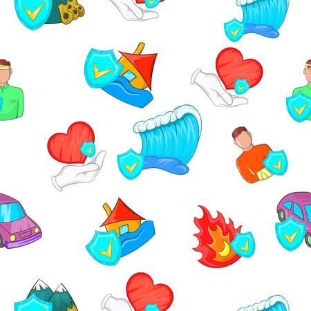 patrón incidente. Ilustración de dibujos animados de patrón incidente vectorial para la web