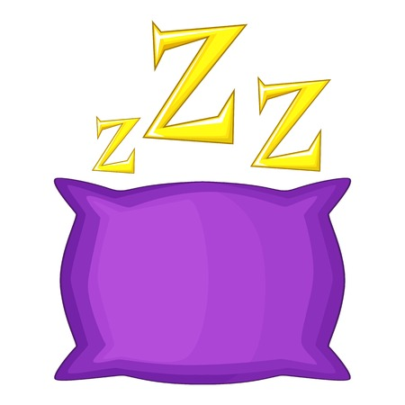 Pillow icon. Cartoon illustration of pillow vector icon for web Illustration