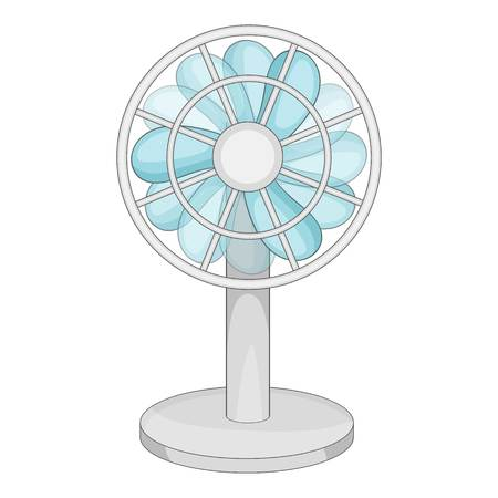 Small ventilator icon. Cartoon illustration of small ventilator vector icon for web