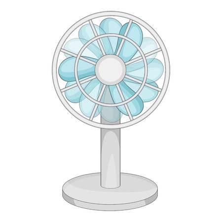 Small ventilator icon. Cartoon illustration of small ventilator vector icon for web