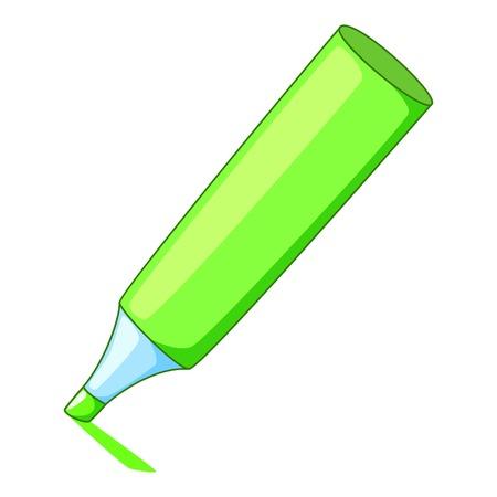 Marker icon. Cartoon illustration of marker vector icon for web Illustration