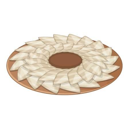 Sashimi icon. Cartoon illustration of sashimi vector icon for web