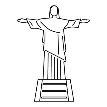 Statue de Jésus-Christ, icône de Rio de Janeiro
