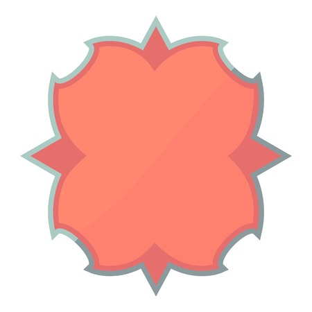 pasteboard: Carton emblem icon, cartoon style