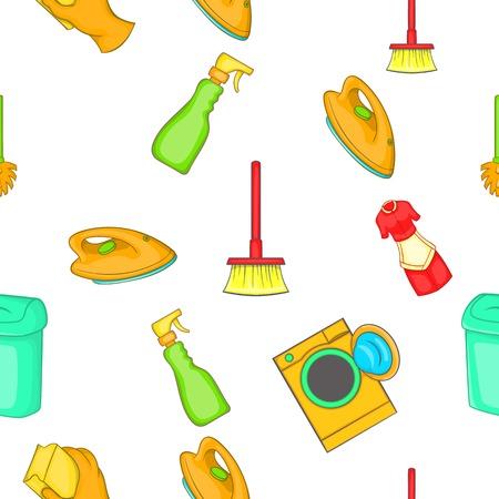 Cleansing pattern. Cartoon illustration of cleansing vector pattern for web Illustration